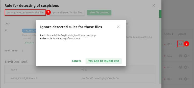 Imunify360 User Interface | Documentation
